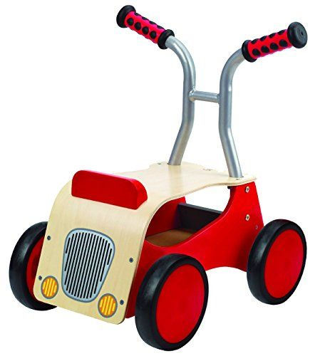 Hape Push & Pull Little Red Rider DS