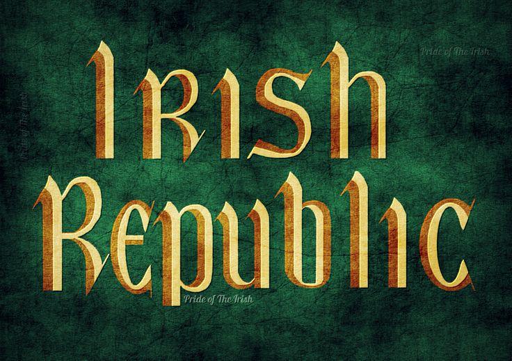 Irish Republic flag. | Grunge Flags. | Pinterest | Flags ...