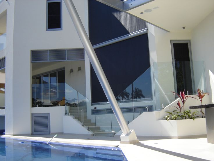 Issey's outdoor external blinds are customisable to complement your home and personal style