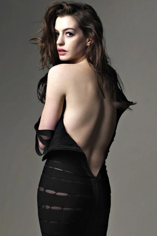 Anne Hathaway - nominated for her role in Les Miserables