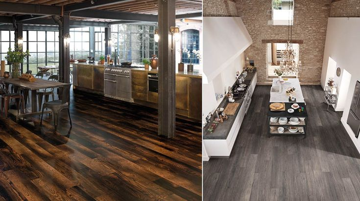 Industrial chic kitchens | Karndean Designflooring