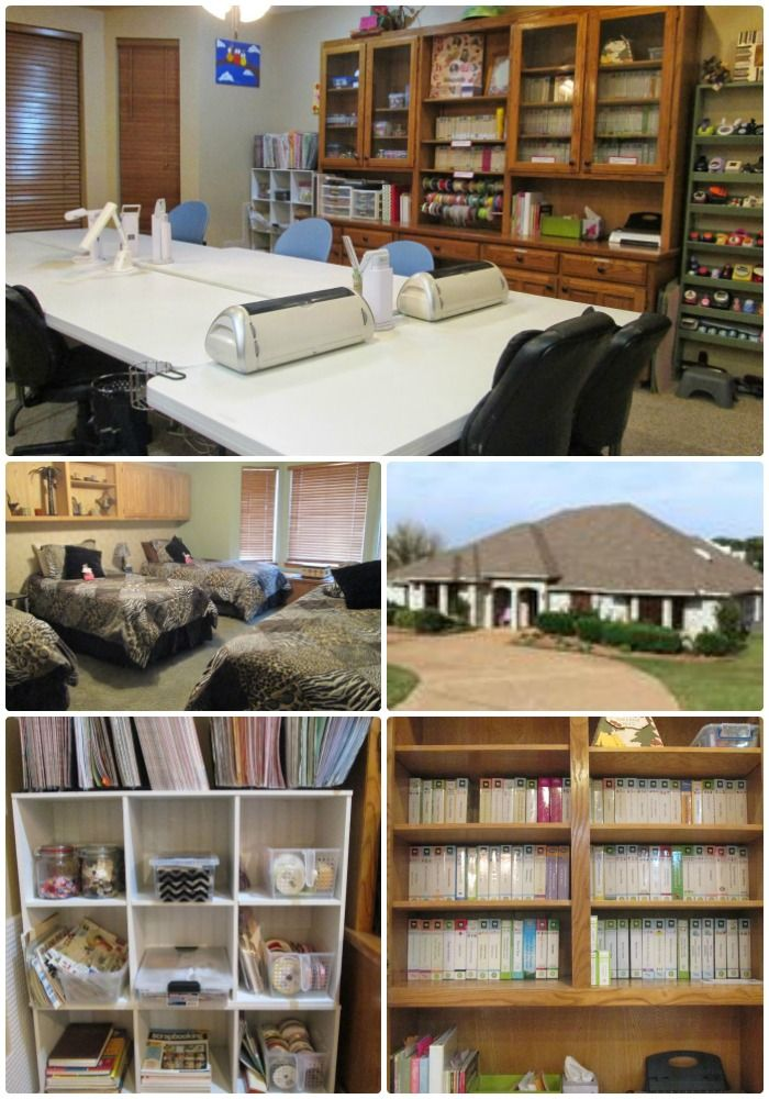 Crafty Creations Retreat: Mansfield, Texas, Self-service private extended weekends accommodating up to 12 guests plus 4 daytime only guests.