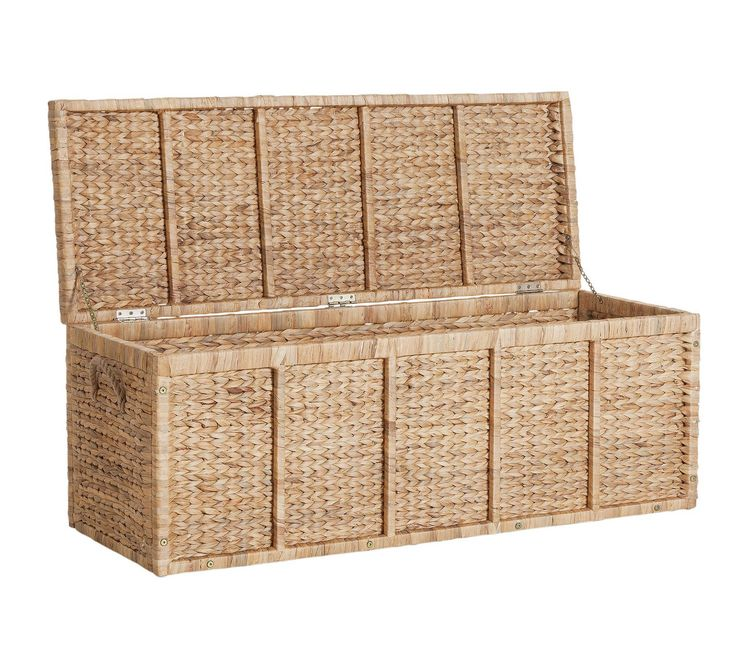 Buy HOME Water Hyacinth XL Chest - Natural at Argos.co.uk, visit Argos.co.uk to shop online for Storage baskets and boxes, Storage, Home and garden