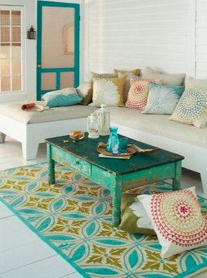 Muebles coloridos | Decoración