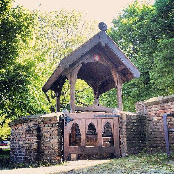Willibrordus #put bij de Witte #Kerk in #Heiloo Holy well st Willibrordus, Heiloo, the Netherlands.