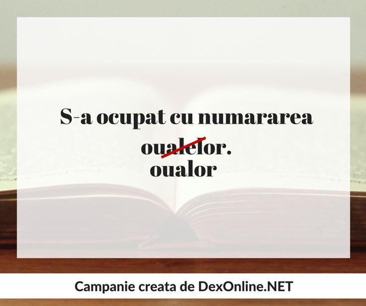 #salveazalimbaromana #corect #dictionar O campanie http://dexonline.net