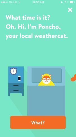 Poncho: Wake Up Weather Screenshots