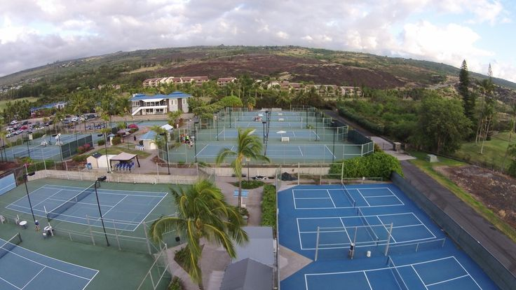 Site for the 2015 Senior Olympics Pickleball Tournament July 10-12.  This is the Holua Tennis and Pickleball Center in Kona, HI.