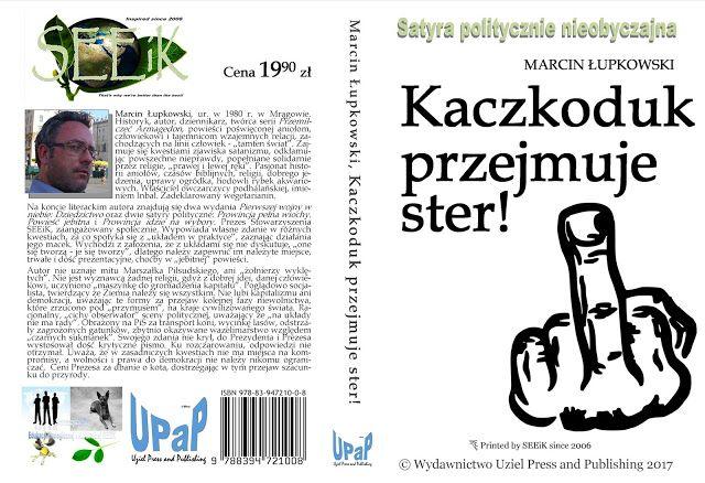 Marcin Łupkowski - autor: Prezentacja okładek książek zaplanowanych do wydan...