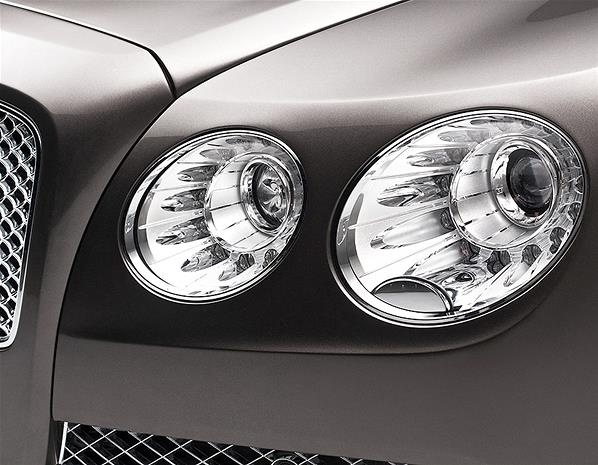 What's special about the headlights of the 2013 Bentley Flying Spur? - New Bentley Flying Spur goes after S-Class >> by Saintrop.com, the Nirvanesque Cote d'Azur.