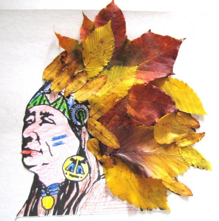 Осенние картинки из листьев для детского сада, лучшие крутые картинки