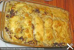 Kartoffelauflauf mit Lauch und Hackfleisch (Rezept mit Bild) | Chefkoch.de