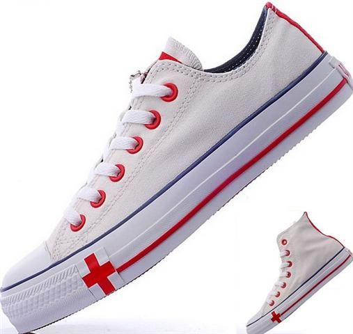 db7b28fb9e6 Converse England Flag White Red Blue Low #converse | authentic ...