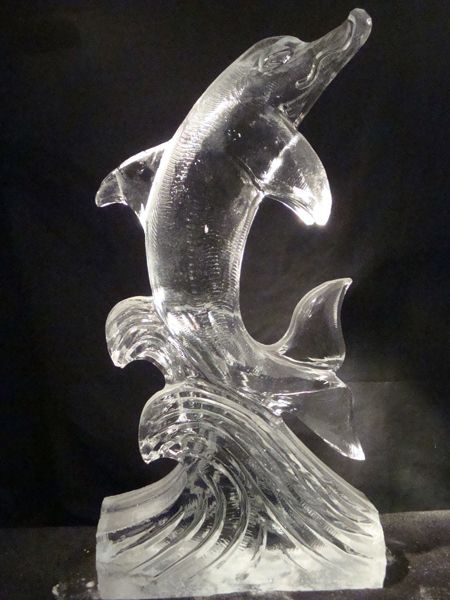 ice sculptures | ButterFly & Daisy