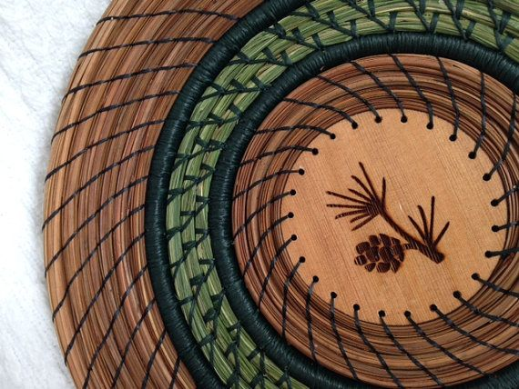 Basket Weaving Supplies Phoenix Az : Best pine needle baskets ideas on