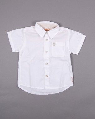 Camisa manga corta marca Timberland (talla 12-18 meses) 12,50€ http://www.quiquilo.es/catalogo-ropa-segunda-mano/camisa-manga-corta-marca-timberland-de-color-blanco.html