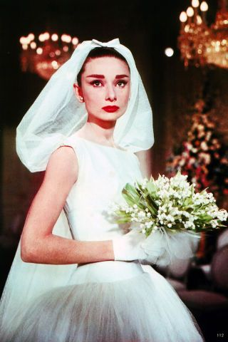 The 32 best movie brides of all time: Audrey Hepburn in Funny Face