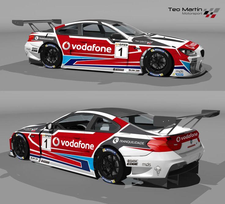 ¡Vota el diseño de Teo Martín Motorsport!