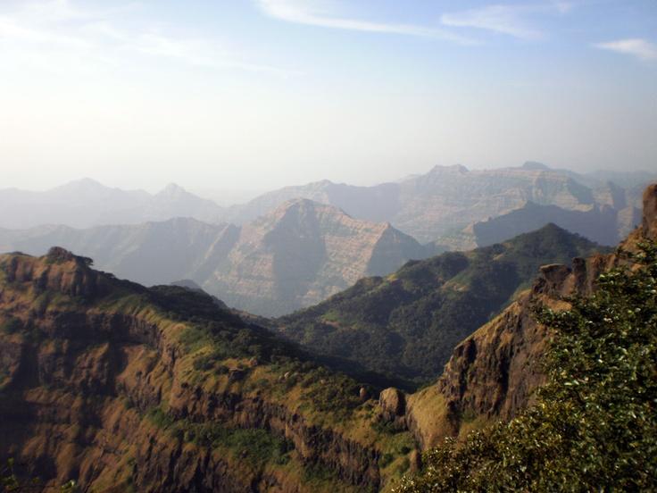 Sahyadri Range, Western Ghats - India.