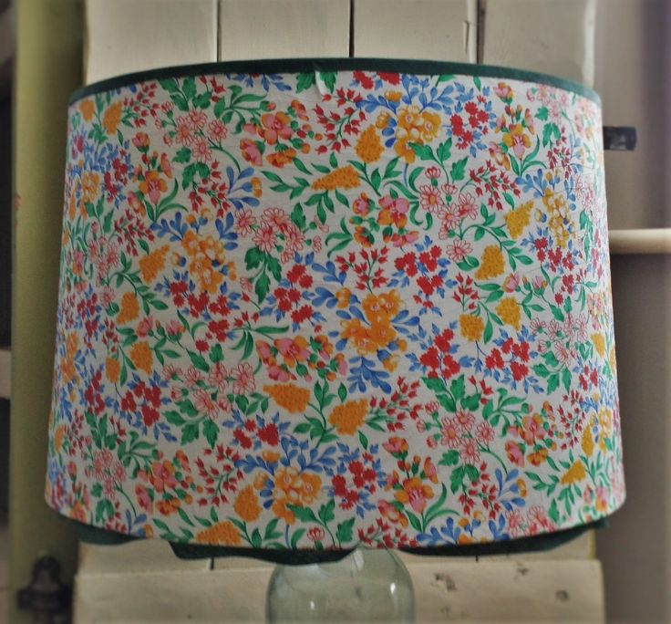 Best 25 standard lamp shades ideas on pinterest vintage lamps lamp shadefloor lamp shadewhite fabric lampshadelovely botanical fabric shade with mozeypictures Gallery