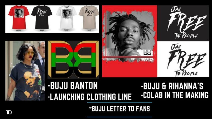 BUJU BANTON Launching CLOTHING LINE EVERYTHING-BB. RIHANNA Collab in the making Buju's LETTER to FANS