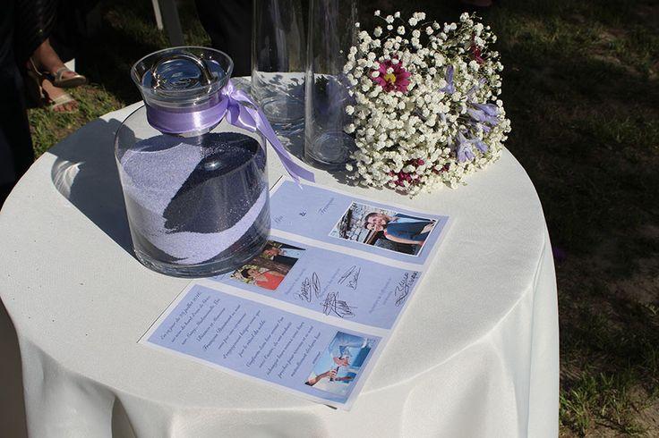 Certificat de mariage - Cérémonie laïque de Léa et François