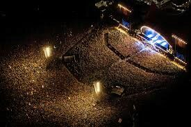 Roskilde Festival by night!!