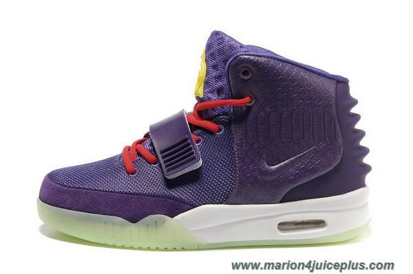 New Purple Women Shoes Nike Air Yeezy II