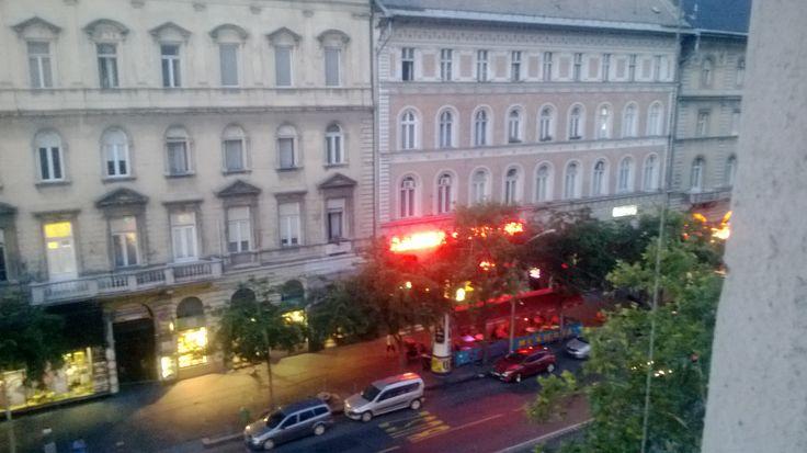 Dusk falling, Teréz körút, Budapest