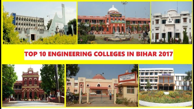 Top 10 Engineering Colleges in Bihar 2017 Currently there are several good private and government engineering colleges in Bihar ranging from IIT and NIT to branch-specific colleges like Central Institute of Plastics Engineering & Technology which is a pioneer institute in the mentioned branch. NIT Patna erstwhile known as Bihar College of Engineering is one of the oldest colleges of the country. It had marked its humble beginning in the year 1886 with the establishment of pleaders survey…