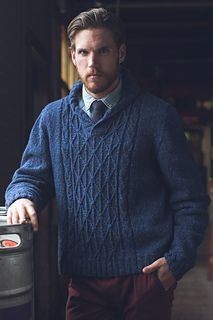 Ravelry: Donegal Sweater pattern by Moira Engel
