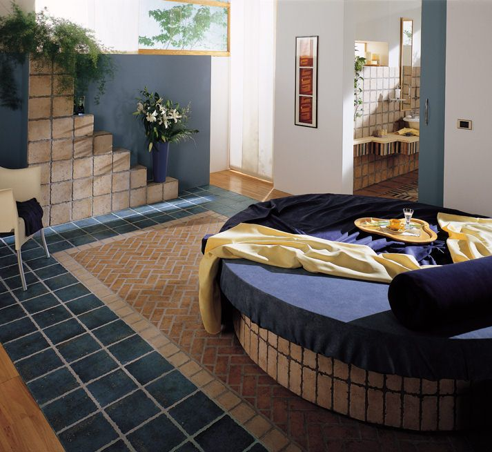 an original atmosphere for your bedroom - Kyrah floor and wall porcelain tiles