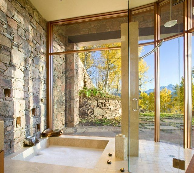 17 best ideas about badezimmer naturstein on pinterest | toiletten, Badezimmer