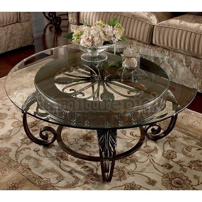 Tullio Occasional Table Set · Metal Coffee TablesRound ...