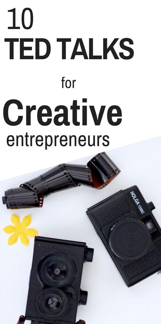 10 Ted Talks for Creative Entrepreneurs