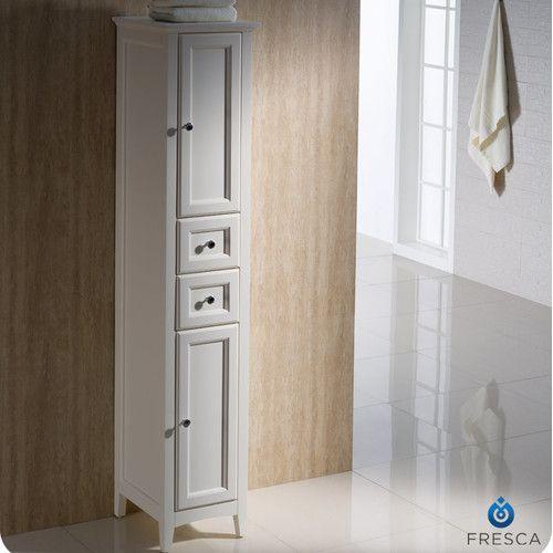 "Fresca Oxford 14"" x 68"" Bathroom Linen Cabinet & Reviews | Wayfair"
