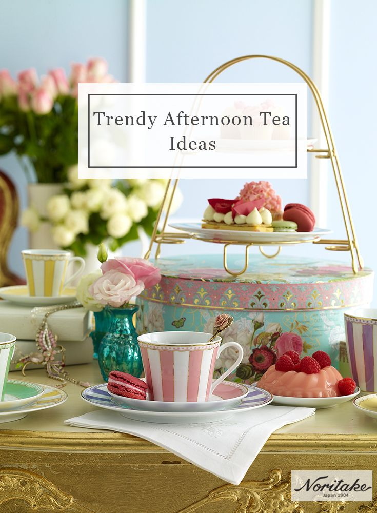 Design your own fabulous afternoon tea with Noritake's award-winning Carnivale accessories range.