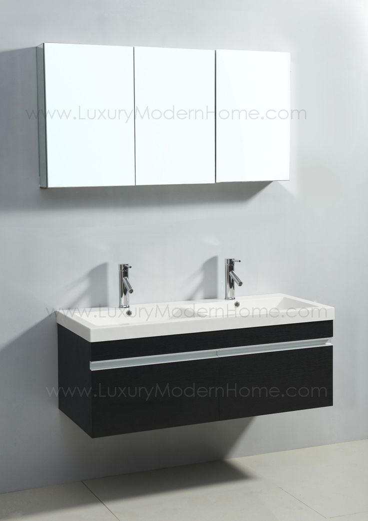 18 best Vanity Sinks ALEXIUS BLACK Wall Mount Hung images on