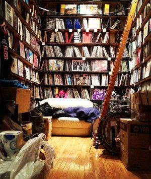 Questlove's Record collection
