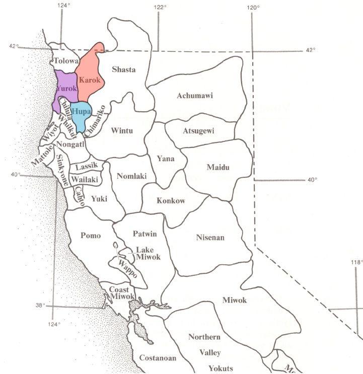 Tradtional Tribal Language Territories In Northwest