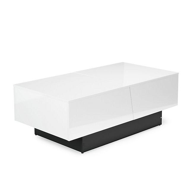 1000 id es sur le th me table basse blanche sur pinterest - Table basse avec bar integre ...