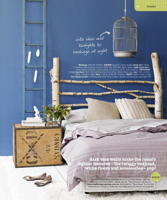 Diy Headboards Paint Colors And Living Room Paint: 79 Best Images About Blue Bedrooms On Pinterest
