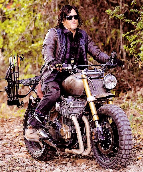 Daryl's new ride. #DarylDixon #TheWalkingDead #TWD