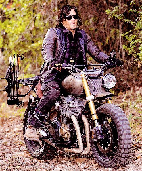 Daryl's new ride. #DarylDixon #TheWalkingDead #TWD