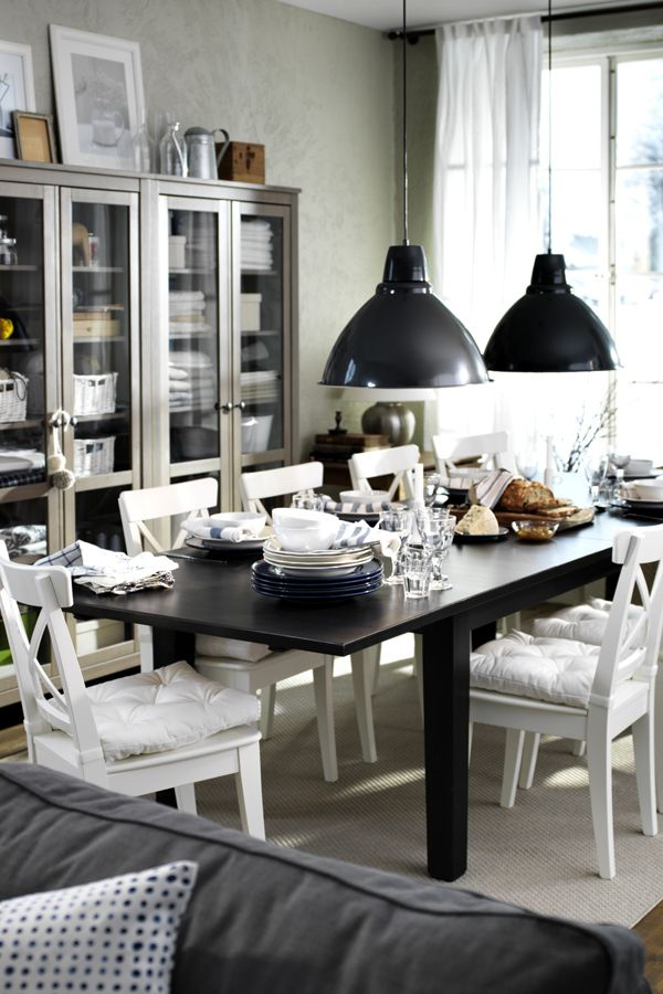 Best Dining Rooms Images On Pinterest Dining Room Ikea - Ikea dining room table