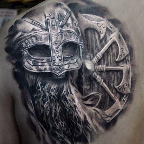 25 Viking Tattoo Designs Ideas: Best 25+ Viking Warrior Tattoos Ideas On Pinterest