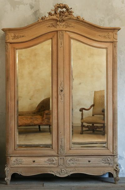 Vintage French Armoire. Antique ...