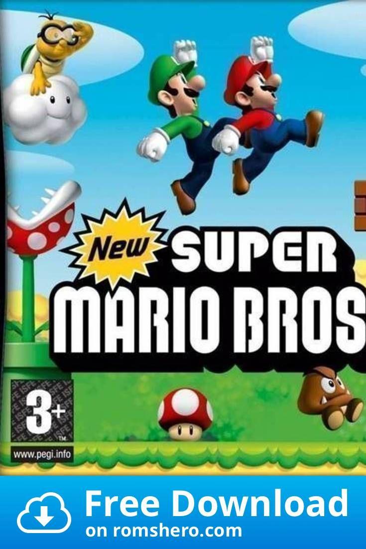 Download New Super Mario Bros Supremacy Nintendo Ds Nds Rom Super Mario Bros Mario Bros Super Mario Brothers