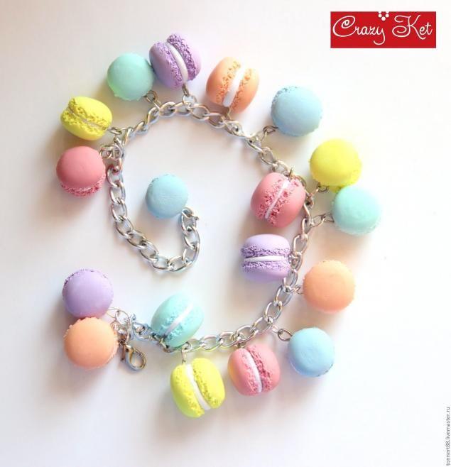 Französisch Macaron aus Polymer Clay. - Fair Masters - handgemacht, handgefertigt