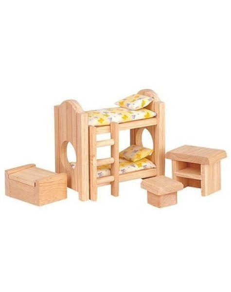 Natural Classic Children's Bedroom Furniture #kidsbedroomfurniture